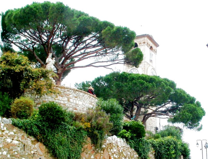 Cannes castle gardens