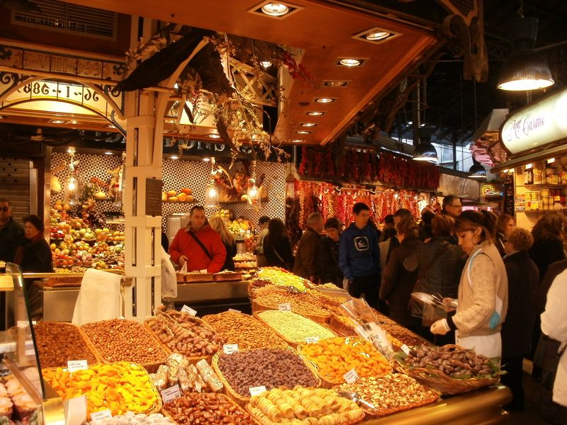 Mercat La Boqueria dried fruit
