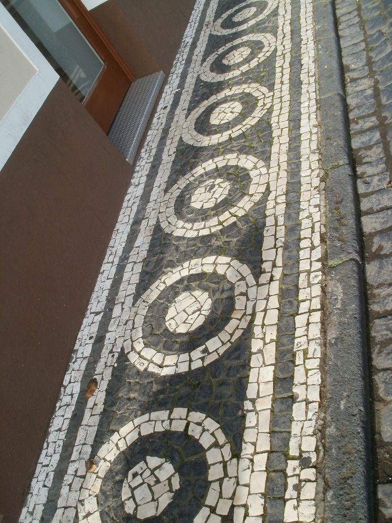 Ribeira Grande pavement
