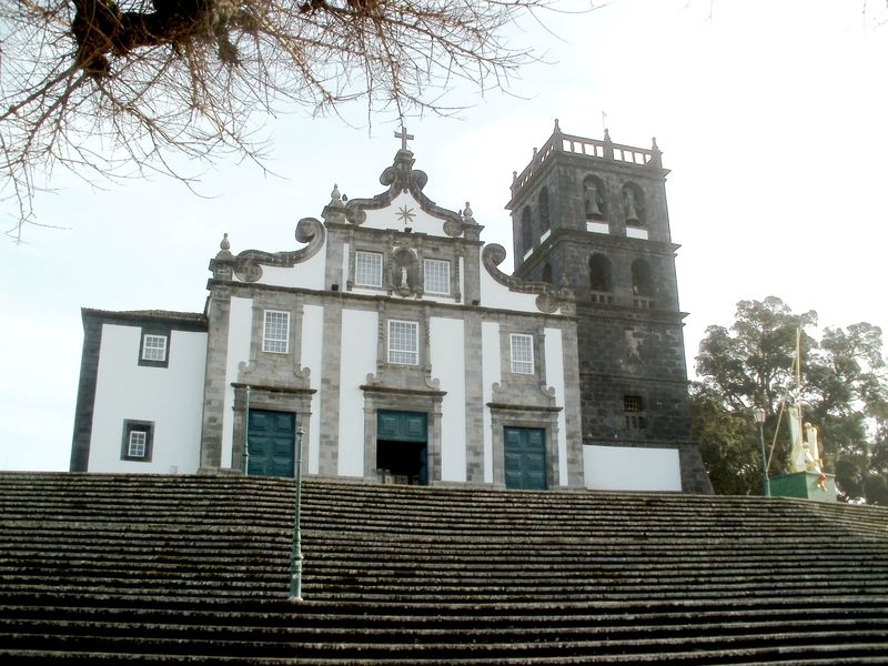 Ribeira Grande church and steps
